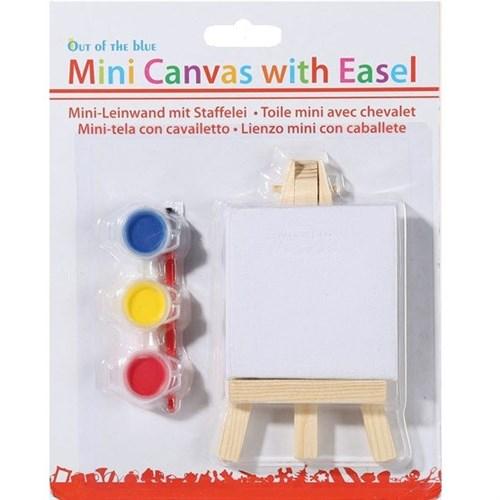 Mini Kanvas Boyama Seti