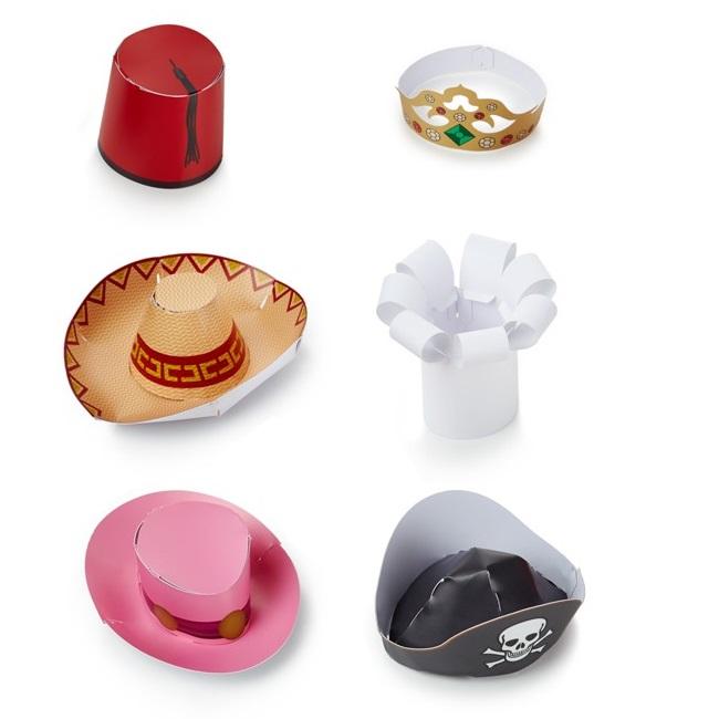 Mini Party Hats - Mini Parti Şapkaları