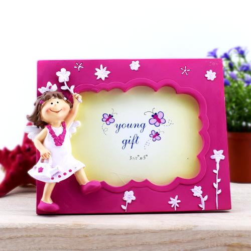 Minik Prenses Süslü Resim Çerçevesi