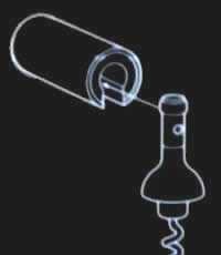 Minivin Corkscrew - Kompakt Tirbüşon - Thumbnail