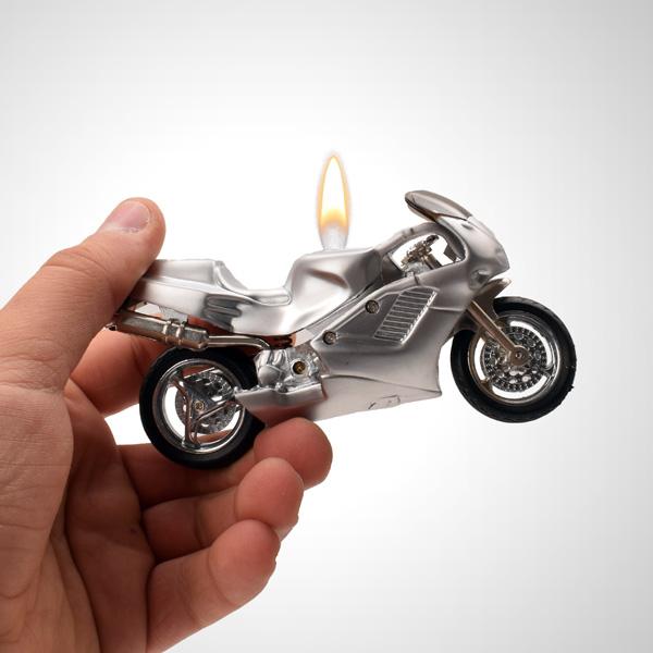 Motosiklet Tasarımlı Çakmak