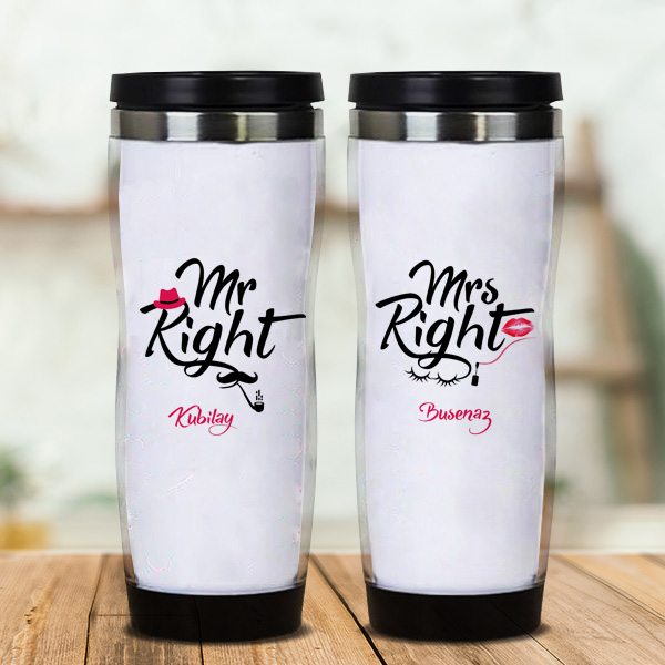 Mr And Mrs Right 2'li Termos