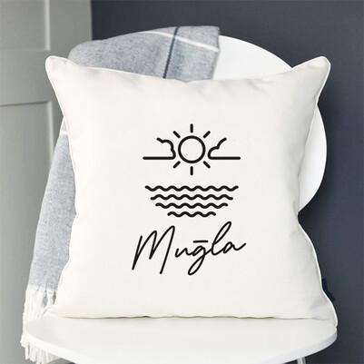 - Muğla Tasarımlı Yastık