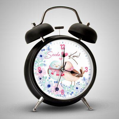 - Muhabbet Kuşları İsimli Çalar Saat