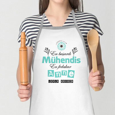 - Mühendis Annelere Özel Mutfak Önlüğü