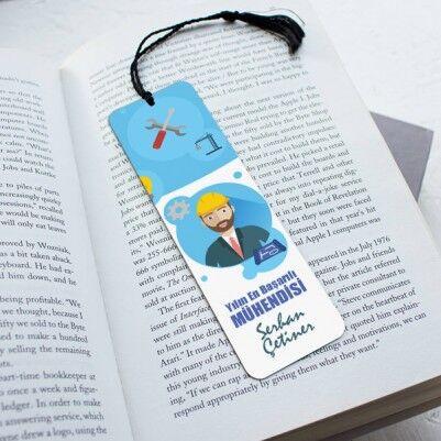 - Mühendislere Hediye Kitap Ayracı