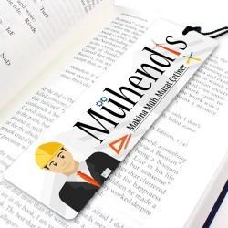Mühendislere Özel Kitap Ayracı - Thumbnail
