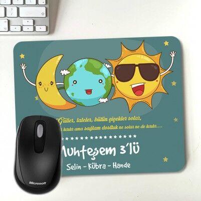 - Muhteşem Arkadaşlar İsme Özel Mousepad