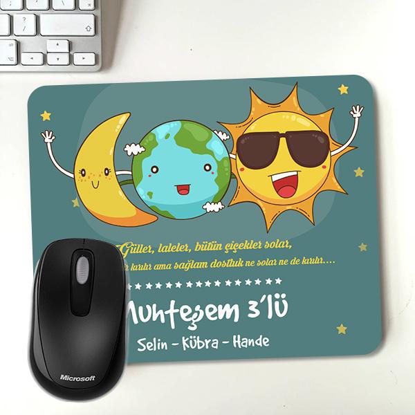 Muhteşem Arkadaşlar İsme Özel Mousepad