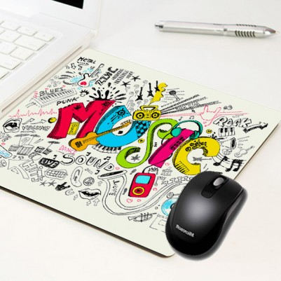 - Music Temalı Mousepad