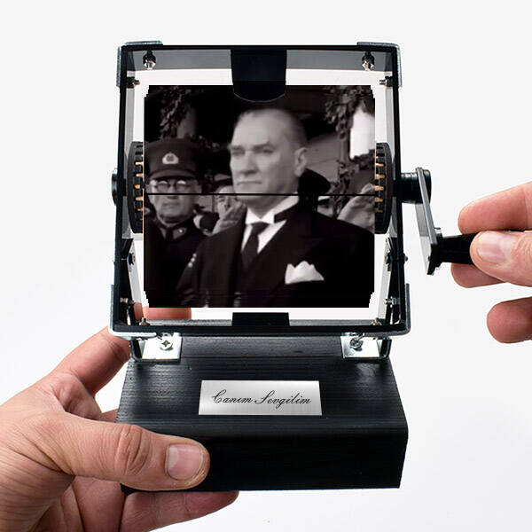 Mustafa Kemal Atatürk Gif Film Makinesi