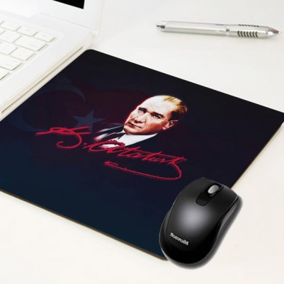 - Mustafa Kemal Atatürk Temalı Mousepad
