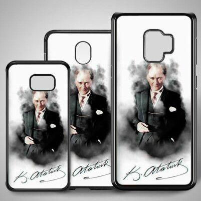 - Mustafa Kemal Resimli Samsung Telefon Kılıfı