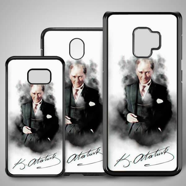 Mustafa Kemal Resimli Samsung Telefon Kılıfı