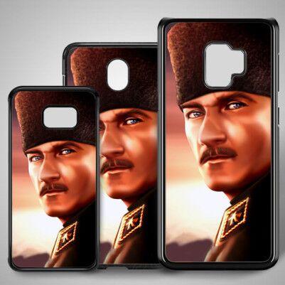- Mustafa Kemal Temalı Samsung Telefon Kapağı