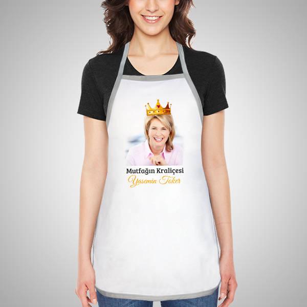 Mutfağın Kraliçesine Özel Mutfak Önlüğü