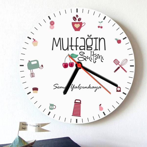 Mutfağın Sultanlarına Özel Duvar Saati