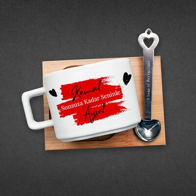 Mutlu Aşıklar Konsept Hediye Kutusu - Thumbnail