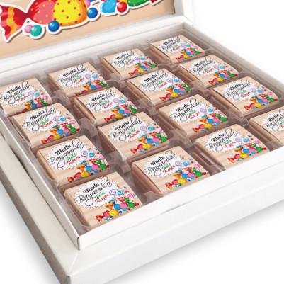 Mutlu Bayramlar Mesajlı Bayram Çikolatası - Thumbnail