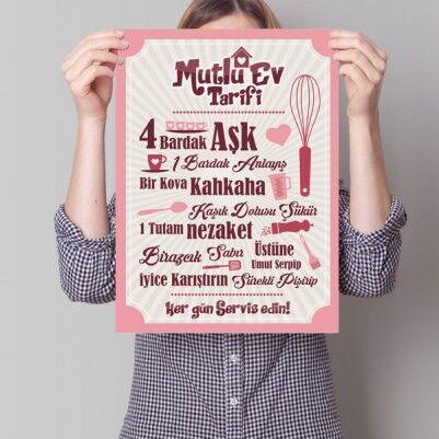 - Mutlu Ev Tarifi Posteri