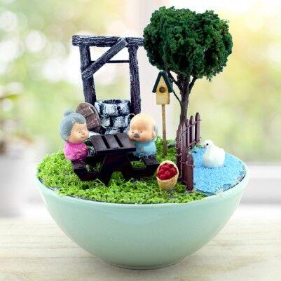 - Mutlu Mesut Aşkımız Minyatür Bahçe