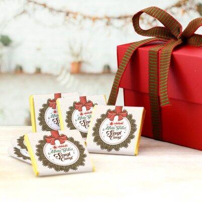 Mutlu Seneler 16'lı Yılbaşı Çikolatası - Thumbnail