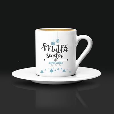 - Mutlu Seneler İsimli Kahve Fincanı