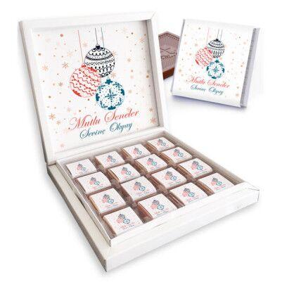 - Mutlu Seneler İsme Özel Kutu Çikolata
