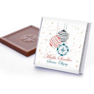 Mutlu Seneler İsme Özel Kutu Çikolata - Thumbnail