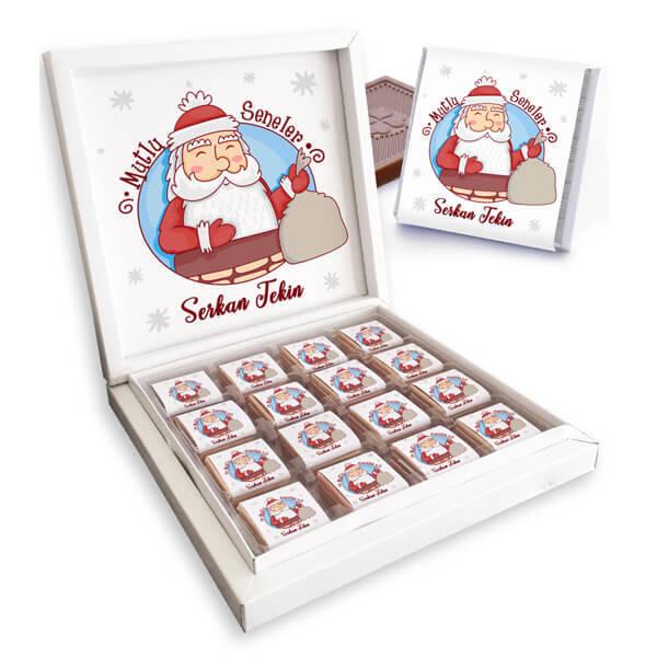 Mutlu Seneler Noel Baba Çikolataları