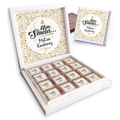 - Mutlu Seneler Yılbaşı Çikolataları