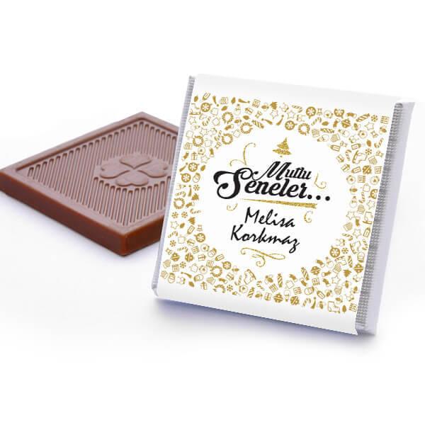 Mutlu Seneler Yılbaşı Çikolataları