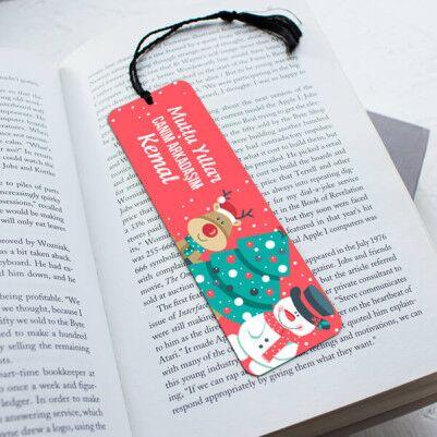 - Mutlu Yıllar Arkadaşım Kitap Okuma Ayracı