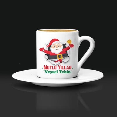 - Mutlu Yıllar Noel Baba Kahve Fincanı