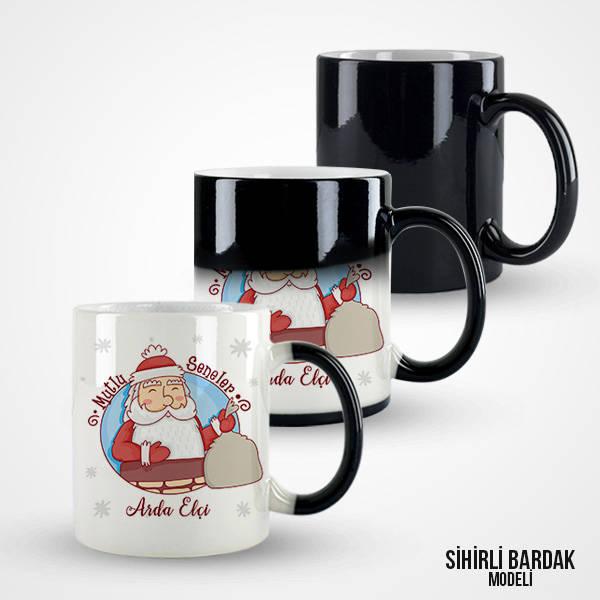 Mutlu Yıllar Noel Baba Kahve Kupası