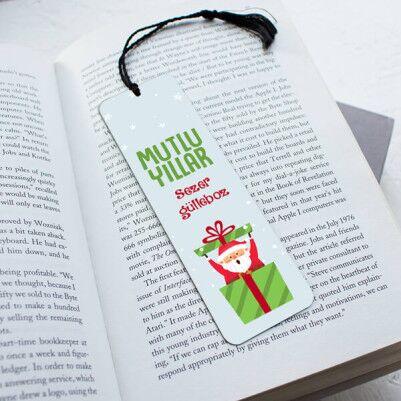 - Mutlu Yıllar Noel Baba Kitap Ayracı
