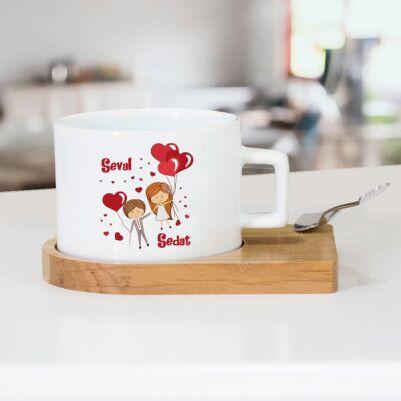 - Mutluluğa Uçalım Çay Fincanı