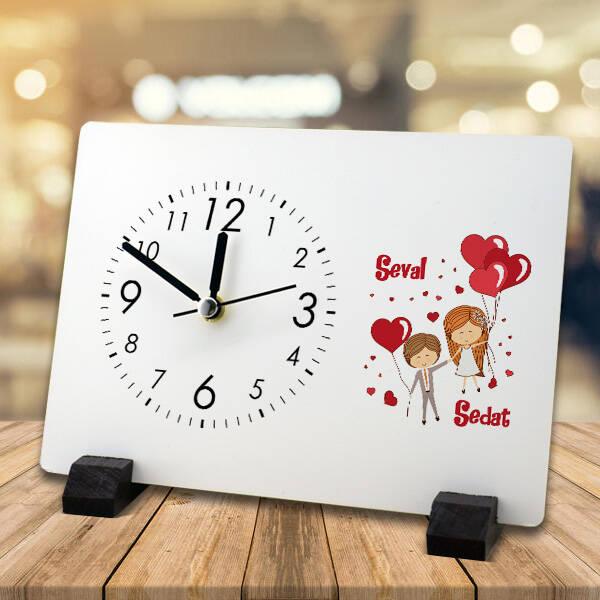 Mutluluğa Uçalım Masa Saati