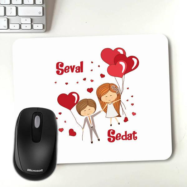 Mutluluğa Uçalım Tasarım Mousepad