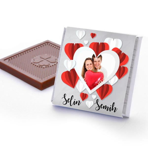 Mutluluk Balonu Sevgili Çikolataları