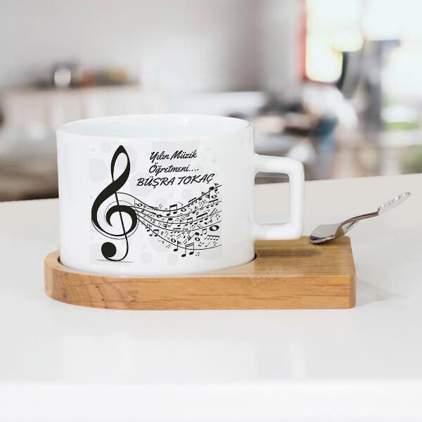 Müzik Öğretmenine Hediye Çay Fincanı