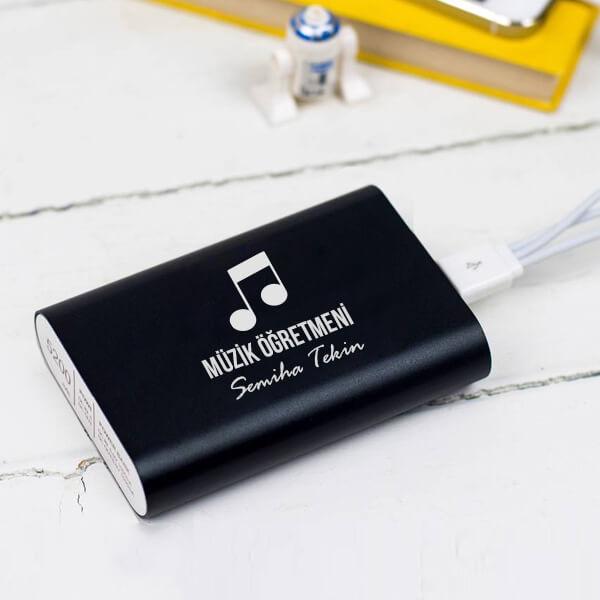 Müzik Öğretmenine Hediye Powerbank