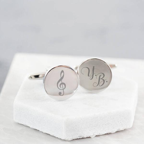 Müzik Öğretmenine Özel Kol Düğmeleri