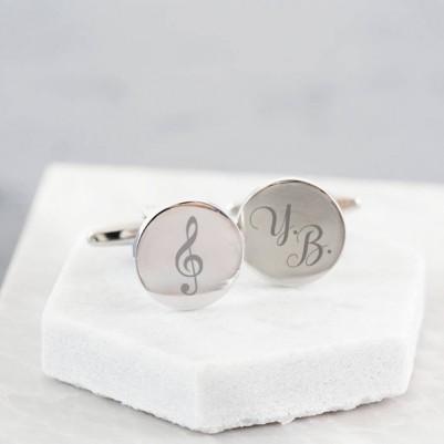 - Müzik Öğretmenine Özel Kol Düğmeleri