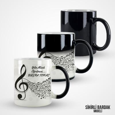 Müzik Öğretmenine Özel Kupa Bardak - Thumbnail