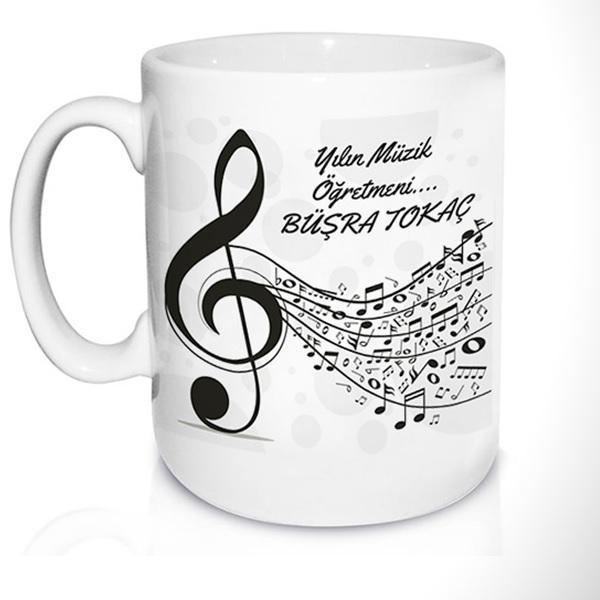Müzik Öğretmenine Özel Kupa Bardak