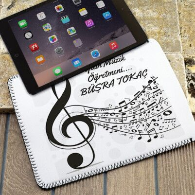 - Müzik Öğretmenlerine Özel Tablet Kılıfı
