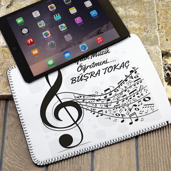 Müzik Öğretmenlerine Özel Tablet Kılıfı