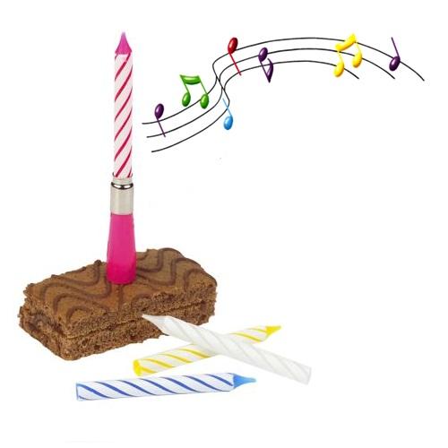 Müzikli Doğum Günü Mumu
