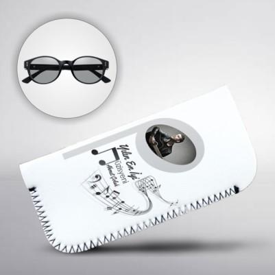 - Müzisyenlere Özel Fotoğraflı Gözlük Kılıfı